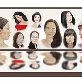 Jim Fitzpatrick - Portraits of Lovely Asian Women