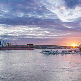 Tony Baldasaro - Portsmouth Harbor Sunset