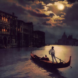 Douglas MooreZart - Postcards From Venice - The Red Gondola