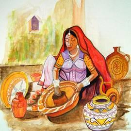 Manjiri Kanvinde - Potters Wife-Rajasthani