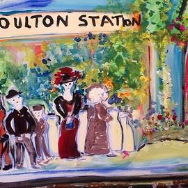 Judith Desrosiers - Poulton station