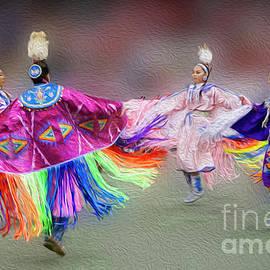 Vivian Christopher - Pow Wow Dancers