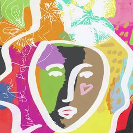 Powerful Girl- Art by Linda Woods - Linda Woods