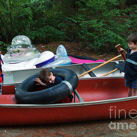 Georgia Sheron - Practicing Boating Skills