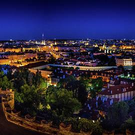 M G Whittingham - Prague at Night