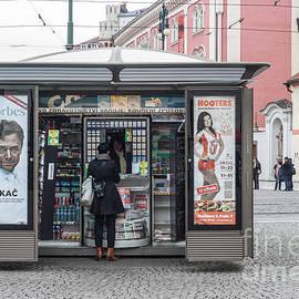 Prague Street Kiosk