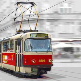 C H Apperson - Prague Tram