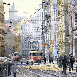 Yuriy  Shevchuk - Prague Vodickova str
