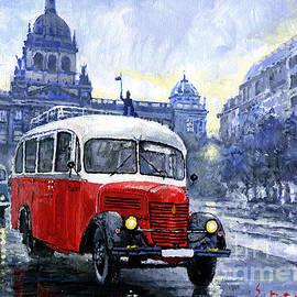 Praha RND bus 1950 Skoda 706 RO - Yuriy Shevchuk