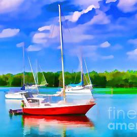 Judy Kay - Preparing to Sail
