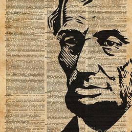 Jacob Kuch - President Abraham Lincoln Historical Vintage Dictionary Art