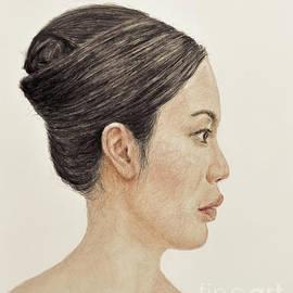 Jim Fitzpatrick - Profile Portrait of a Chinese Beauty