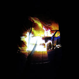 Conor OBrien - Projection - Body - Car Fire #1