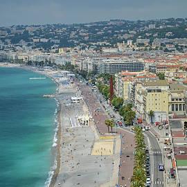 Allen Sheffield - Promenade des Anglais - Nice, France