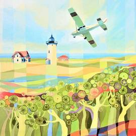 Ezartesa Art - Provincetown Flight