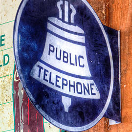 Jerry Fornarotto - Public Telephone Sign