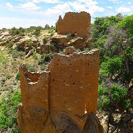 Jeff  Swan - Pueblo Ruins at Hovenweep