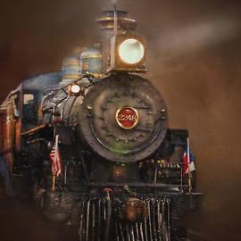 David and Carol Kelly - Puffy 2248 The Steam Locomotive