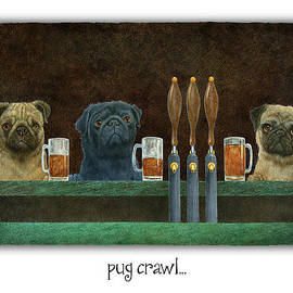 pug crawl... - Will Bullas