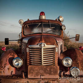 T Lowry Wilson - Pumper No 4 Fire Truck in the Mississippi Delta