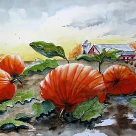 April McCarthy-Braca - Pumpkin Harvest