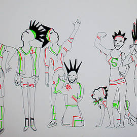 Gloria Ssali - Punk Rock Bus Stop Blues