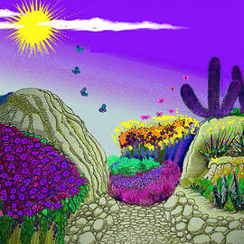 Vivian Rayford - Purple Desert