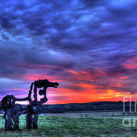 Reid Callaway - Purple Haze Sunrise The Iron Horse