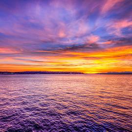 Spencer McDonald - Purple Haze Sunset