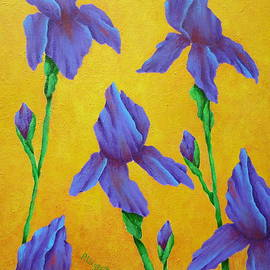 Pamela Allegretto - Purple Iris