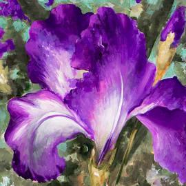 Vali Irina Ciobanu - Purple Iris