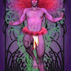 Joaquin Abella - Purple Lion King