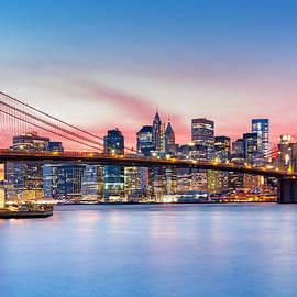 Mihai Andritoiu - Purple NYC sunset