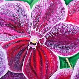 Manjiri Kanvinde - Purple Orchid bloom