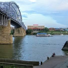 Kathy Barney - Purple People Bridge Cincinnati