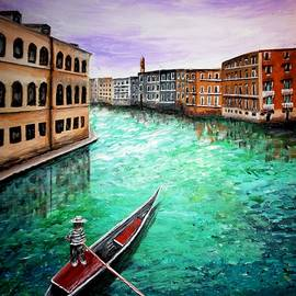 Irving Starr - Purple Sky In Venice