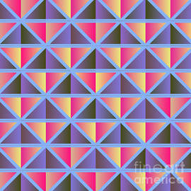 Gaspar Avila - Purple triangles