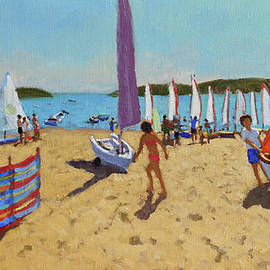 Pushing out the boat, Abersoch - Andrew Macara