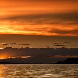 Randy Hall - Qualicum Beach Sunset
