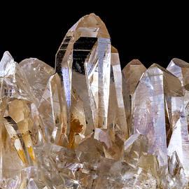 Quartz crystals - Jim Hughes
