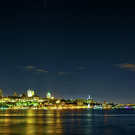 Adam David - Quebec City Landscape At Night - 2