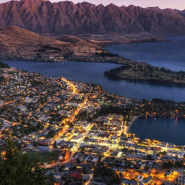 Aaron Choi - Queenstown Sunset