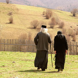 Emanuel Tanjala - Quiet walk at the monastery