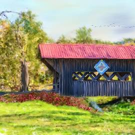 Mary Timman - Quilted Covered Bridge