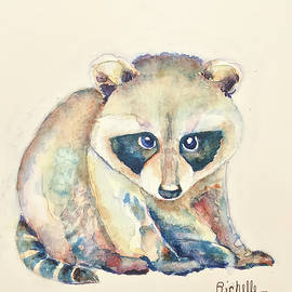 Richelle Siska - R is for Raccoon