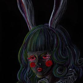 Akiko Kobayashi - Rabbit Girl -black-