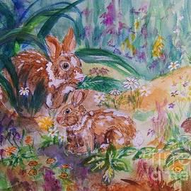 Ellen Levinson - Rabbits In The Garden