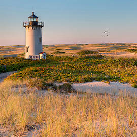 Bill Wakeley - Race Point Light Sand Dunes