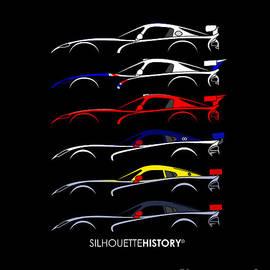 Racing Snakes SilhouetteHistory SilhouetteHistory - Gabor Vida