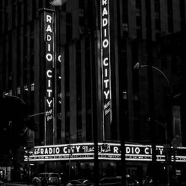 James Aiken - Radio City Music Hall at Dawn - BW